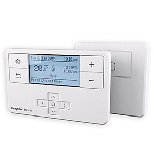 Drayton MP710R MiTime RF Wireless Programmable Thermostat with Receiver MP710R9K0900