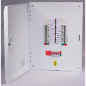 Lewden E-TPN12LW 12 Way 125A Tp+n Type B Distribution Board Without Incomer