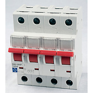 Lewden EMS-1004P 100A 4P Main Switch