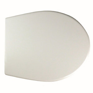 Twyford Alcona Standard Toilet Seat & Cover (Metal Hinges) AR7815WH