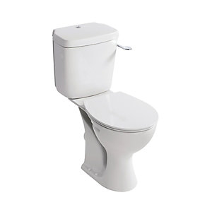 Armitage Shanks Sandringham21 E883401 Close-Coupled Horizontal Outlet WC Pan Raised
