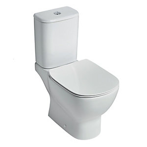 Ideal Standard Tesi Close Coupled Toilet Pan with Aquablade T356401