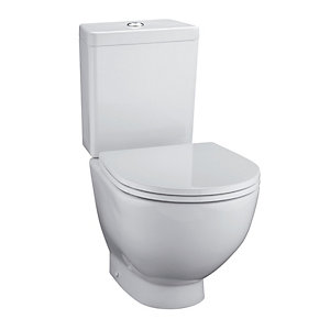 Ideal Standard White Back To Wall Toilet Pan with Horizontal Outlet E000101