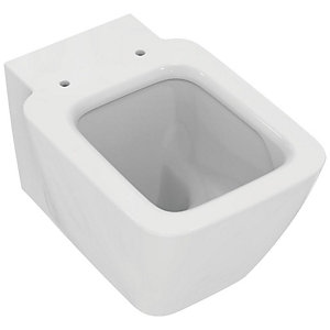 Strada Ii Wall Hung Bowl White