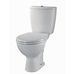 Twyford Alcona Close Coupled Toilet Pan (Bottom Outlet) AR1145WH
