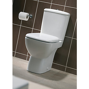 Twyford Moda Close Coupled Toilet Cistern MD2342WH