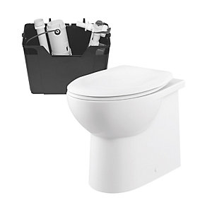iflo Cascada Back to Wall Toilet Pan and Concealed Cistern