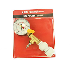 City Heating Spares Dry Pipe Test Kit 40.201