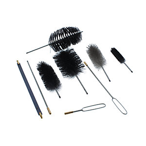 Hayes 66.4108 Flue Brush Set (9PC)