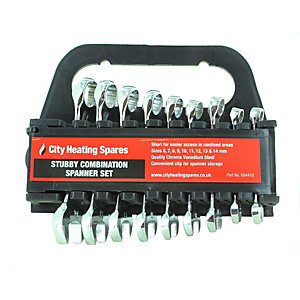 Newtool Set of 9 Stubby Combination Spanners