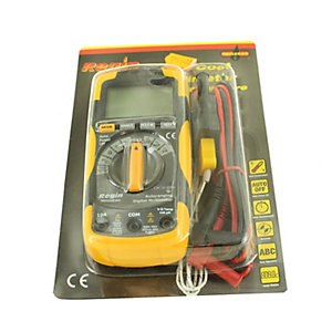 Regin Low Cost Digital Multimeter with Temperature REGXE40