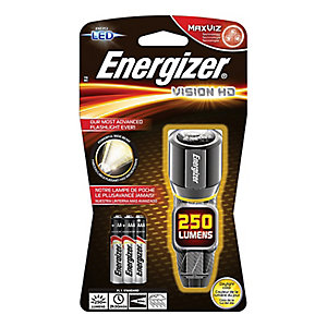 Energizer S12116 3 x AAa Vision Hd Performance Metal LED Flashlight
