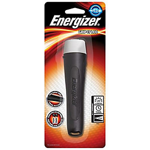 Energizer S8940 LED Grip-it General Purpose Torch Complete with 2 AA Batteries
