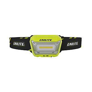Unilite HL-5R Motion sensor LED rechargeable head torch