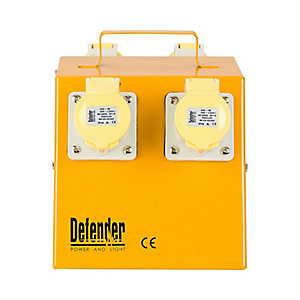 Defender E13104 4 Way Distribution Unit - 16A 110V