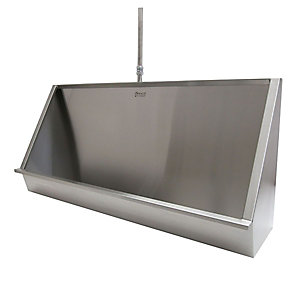 Acorn Thorn 064-2100-C-Te Wall Hung Trough Urinal 2100 Stainless Steel