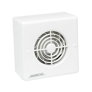 Manrose 100mm/4 Centrifugal Timer Fan Blister Pk