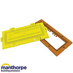 Manthorpe Airbrick Flood Defence G980 Terracotta