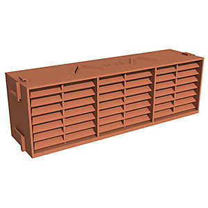 Manthorpe Combi Airbrick Terracotta 9x3inch