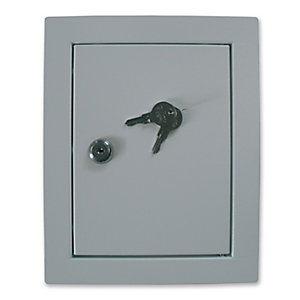 Manthorpe Fire Rated Access Panel 200x150mm & Cylinder Lock Gl151F