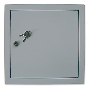 Manthorpe Fire Rated Access Panel 300x300mm & Cylinder Lock Gl131F