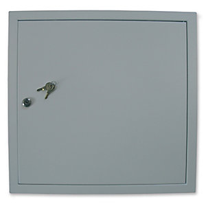 Manthorpe Fire Rated Access Panel 450x450mm & Cylinder Lock Gl451F