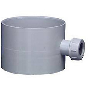 Manrose 1440 100mm Condensation Trap with Overflow