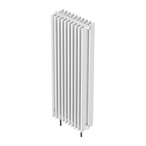 Barlo Adagio D70 Vertical Double Designer Radiator White 2000x400mm