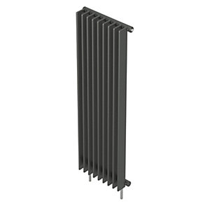 Barlo Adagio S70 Vertical Single Designer Radiator Anthracite 1800x400mm