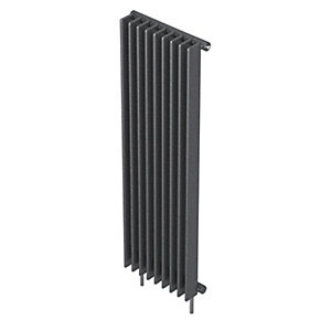 Barlo Adagio S70 Vertical Single Designer Radiator Gun Metal 1800x600mm