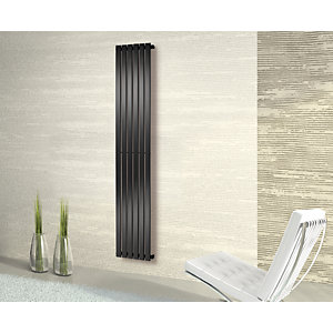 Towelrads Merlo Anthracite Vertical Radiator 1800mm x 310mm