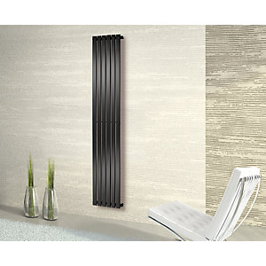 Towelrads Merlo Anthracite Vertical Radiator 1800mm x 435mm