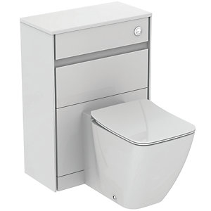 Ideal Standard Philosophy WC Unit 600mm Gloss White & Matt White E1665B2