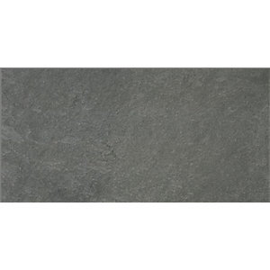 Black Peak Black Wall & Floor Tile 600 x 300 mm (Pack Of 6)