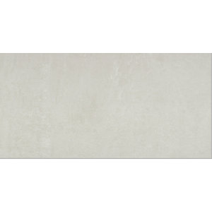 Ground White Gloss Wall Tile 600 x 300 mm (Pack Of 6)