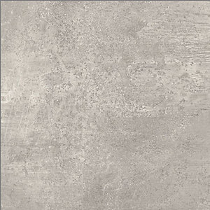 Leeds Malvern Grey Matt Wall & Floor Tile 600 x 600 mm (Pack Of 3)