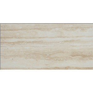 Nevada Beige Matt Wall & Floor Tile 600 x 300 mm (Pack Of 6)