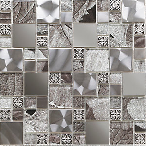 Saturn Modular Mosaic Wall Tile 300 x 300 mm