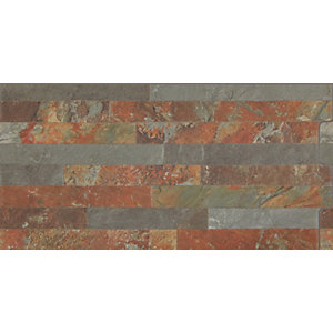 Splitface Multi Matt Wall Tile 460 x 230 mm (Pack Of 10)