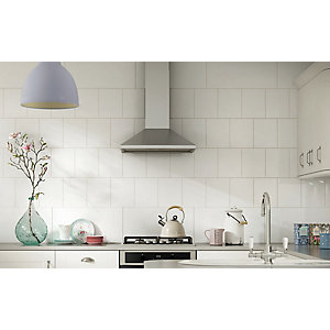 White Gloss Wall Tile 250 x 200 mm (Pack Of 20)