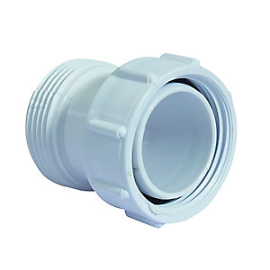 McAlpine BSP Female x BSP Male Coupling 1 1/4 Inch S12A-1