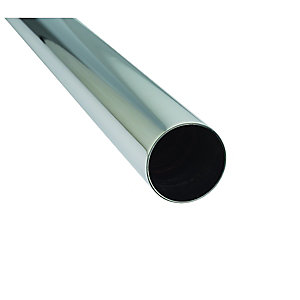 McAlpine Chrome Plated Pipe 42mm x 10m PIPE42-1000-CB