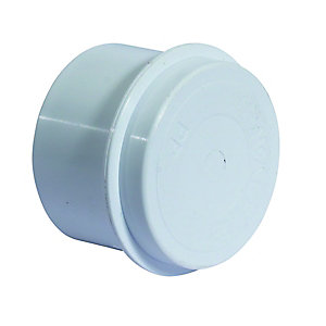 McAlpine Multifit Blank Cap White 23mm T23m