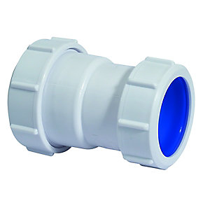 McAlpine Multifit Straight Connector 38mm x 40mm T28L-ISO