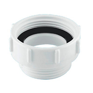 McAlpine Plastic Coupling 2in x 1/2in T12C