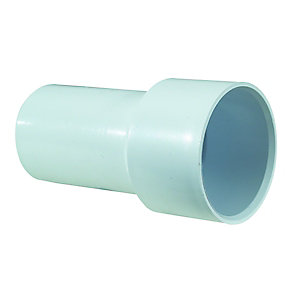 McAlpine Solvent Weld Adaptor White 38mm x 42mm