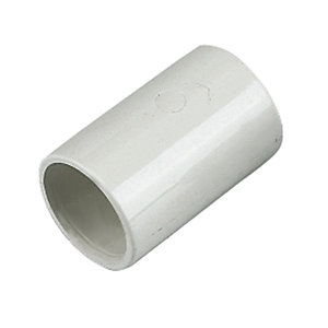 Floplast 21.5mm Overflow System Coupling White Pack of 5 OS10W