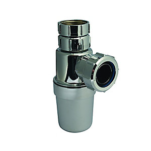 McAlpine Adjustable Bottle Trap Chrome CAA10