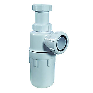 McAlpine C10 Adjustable Inlet Bottle Trap 38mm