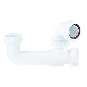 McAlpine Seal Bath Trap White 38 x 60mm SM10E